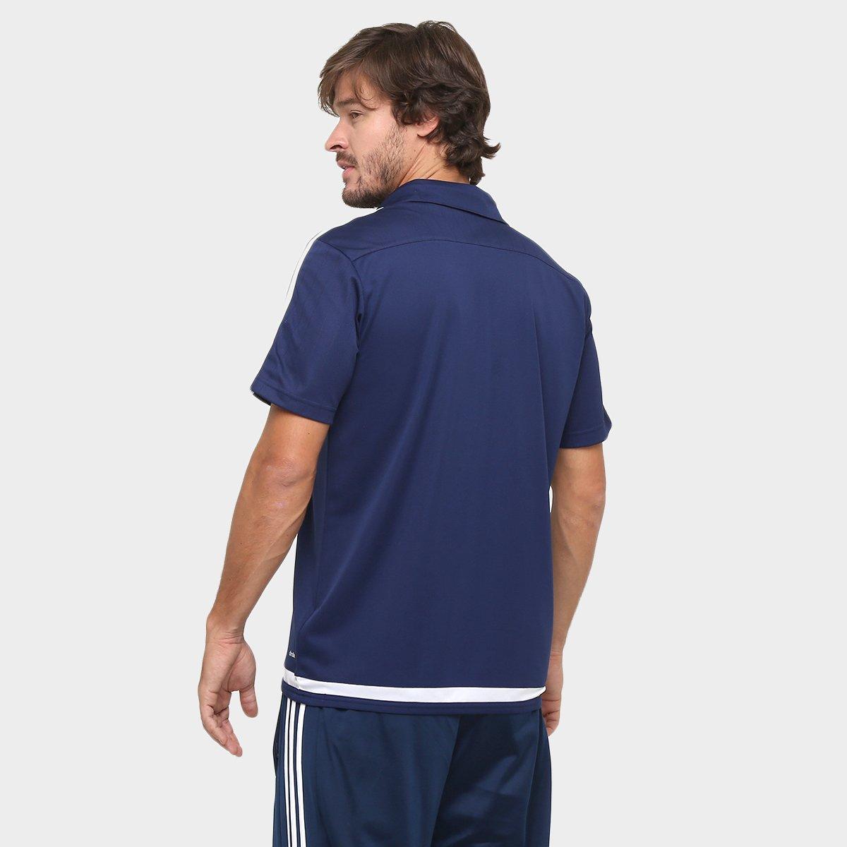 Camisa Polo Adidas Tiro 15 Viagem Masculina - Compre Agora  684ff6b931a90