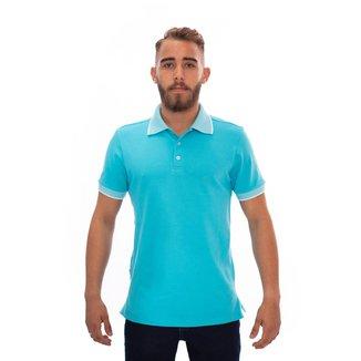 Camisa Polo Aee Surf Slim Lisa Masculina