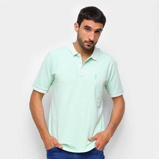 Camisa Polo Aleatory Estonada Masculina