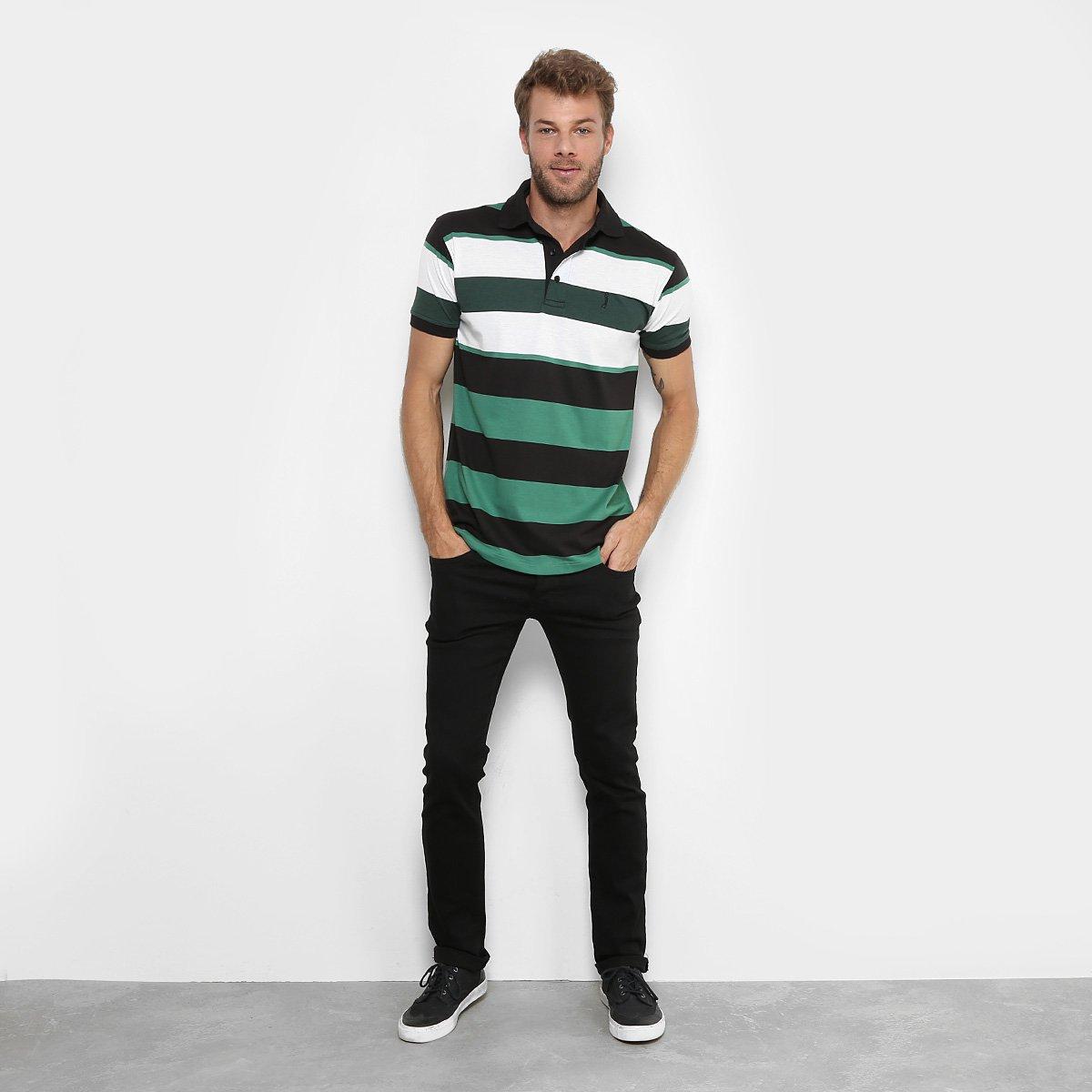 Camisa Polo Aleatory Fio Tinto Listrada Masculina - Compre Agora ... 1d90d46d0d975