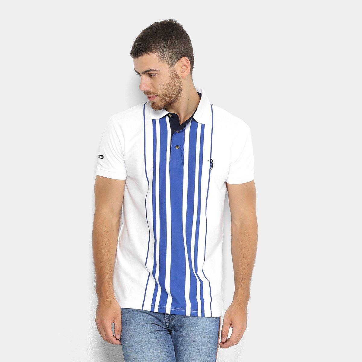 af4ea3b1c1 Camisa Polo Aleatory Fio Tinto Listrada Masculina - Compre Agora ...