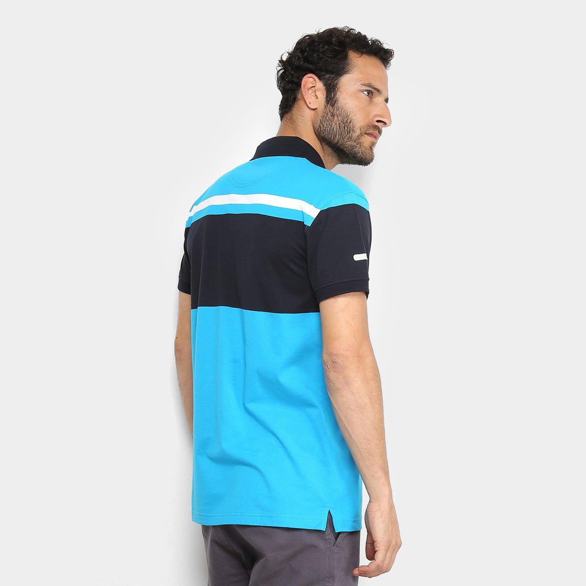 Camisa Polo Aleatory Listras Masculina  Camisa Polo Aleatory Listras  Masculina ... 405e73693bf3b
