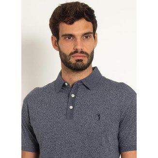 Camisa Polo Aleatory Motion Jersey Marinho-Azul Marinho-P