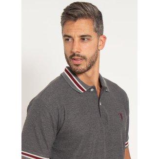 Camisa Polo Aleatory Piquet Elegance