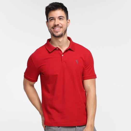 Camisa Polo Aleatory Piquet Masculina - Vermelho