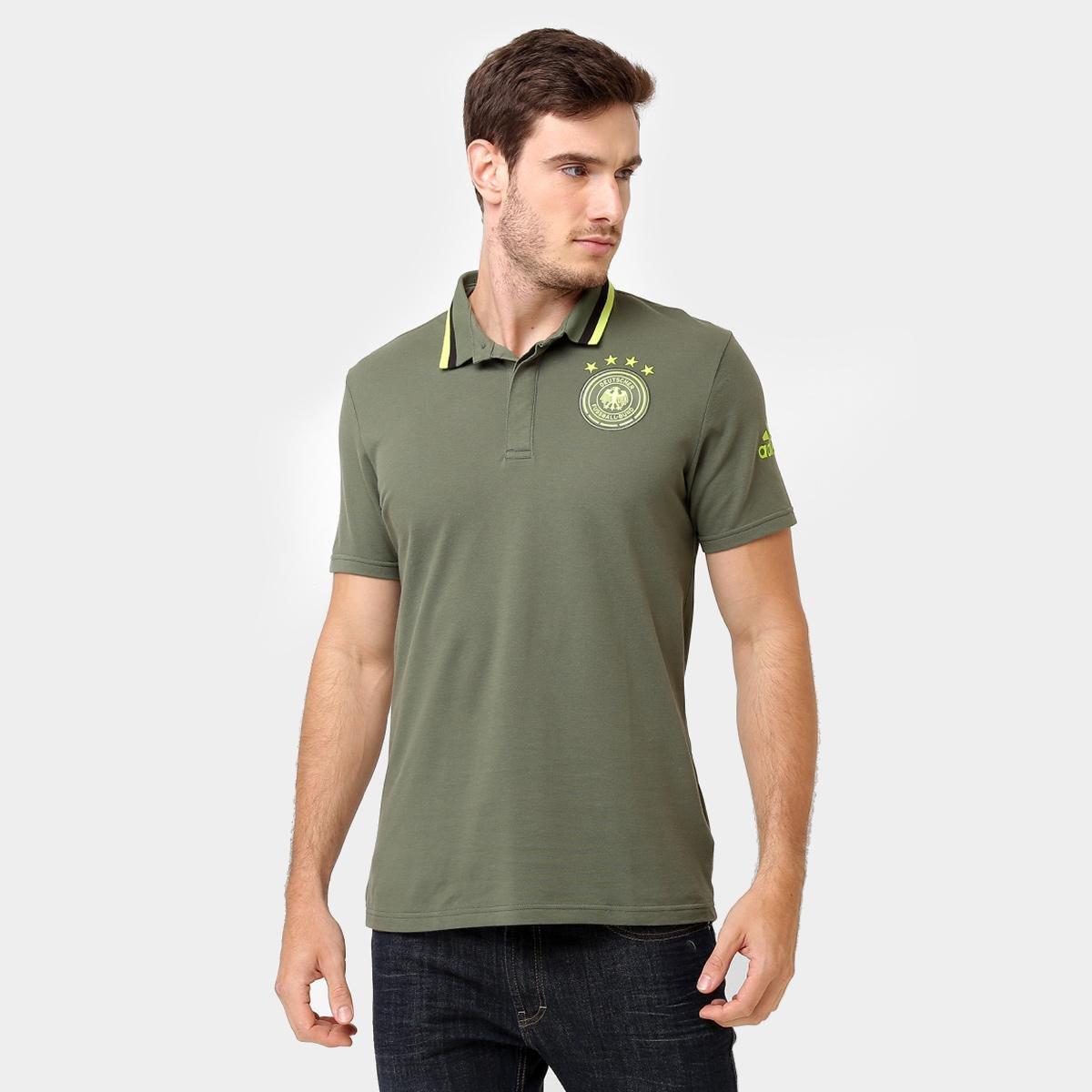 ... 2018 adidas - Masculina f558e945668e82  Camisa Polo Alemanha Adidas  Seleção - Compre Agora Netshoes 06dd0ed6b6286b ... 37344759c405a