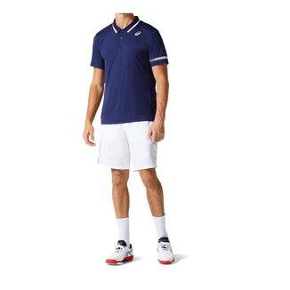 Camisa Polo ASICS Court - Masculino - Azul Marinho - tam: M Asics