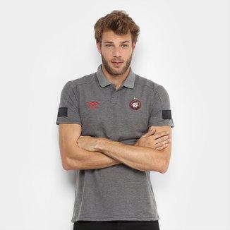 Camisa Polo Athletico Paranaense Viagem 2018 Umbro Masculina