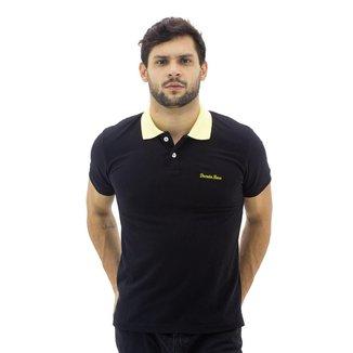 Camisa Polo Básica Decreto Base Masculina