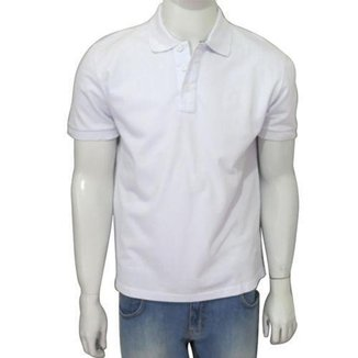 Camisa Polo Básica Masculina Eleven Manga Curta