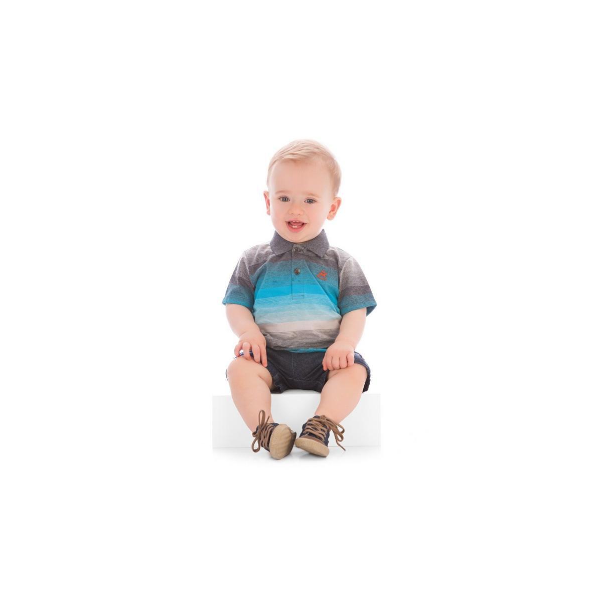 ad29f9a344 Camisa Polo Bebê Up Baby Masculina - Compre Agora