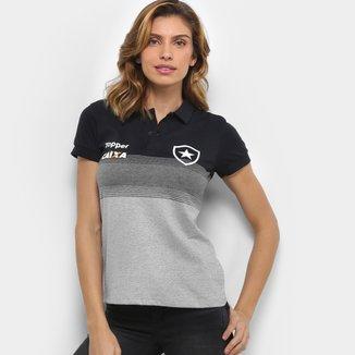 Camisa Polo Botafogo Viagem Topper Feminina