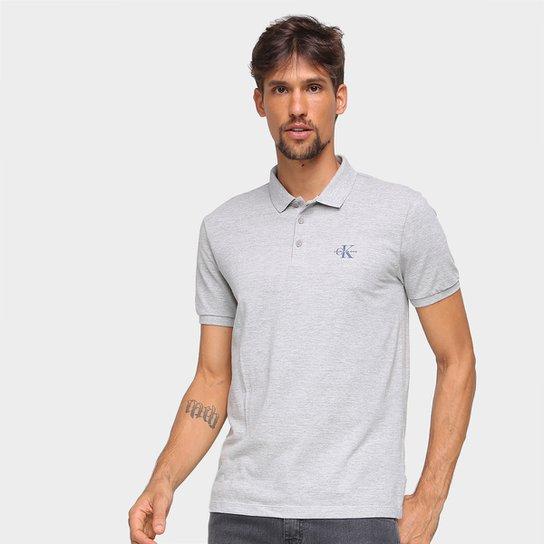 Camisa Polo Calvin Klein Lisa Masculina - Mescla