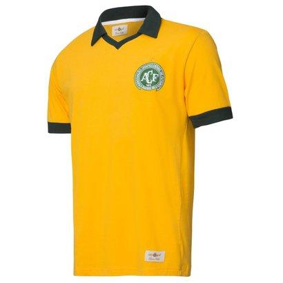 Camisa Polo Chapecoense Seleção Brasil Retrô Gol Torcedor Masculina 50ac92003688e