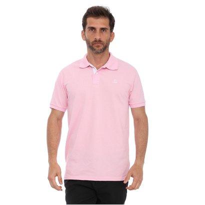 a386fbd00a119 Camisa Polo Clube Náutico Slim Masculino - Rosa - Compre Agora ...