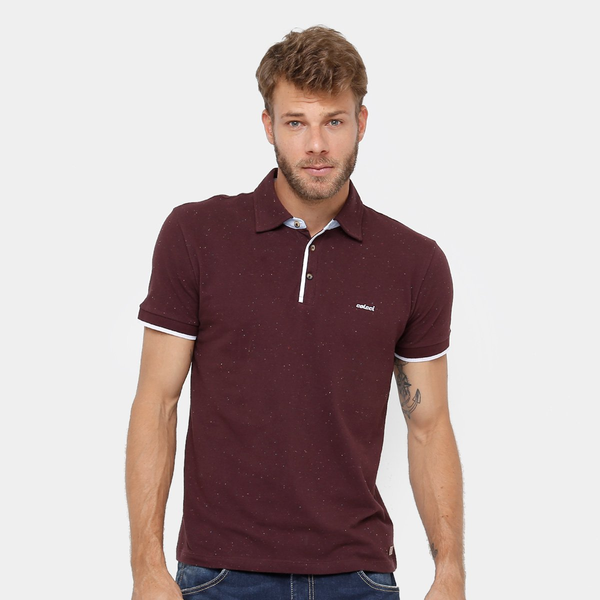 a38e73bb4 Camisa Polo Colcci Masculina | Netshoes