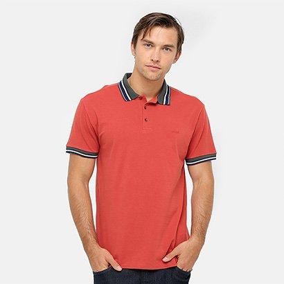 a0f7b0a72d Camisa Polo Colcci Piquet Frisos Contraste Masculino - Compre Agora ...
