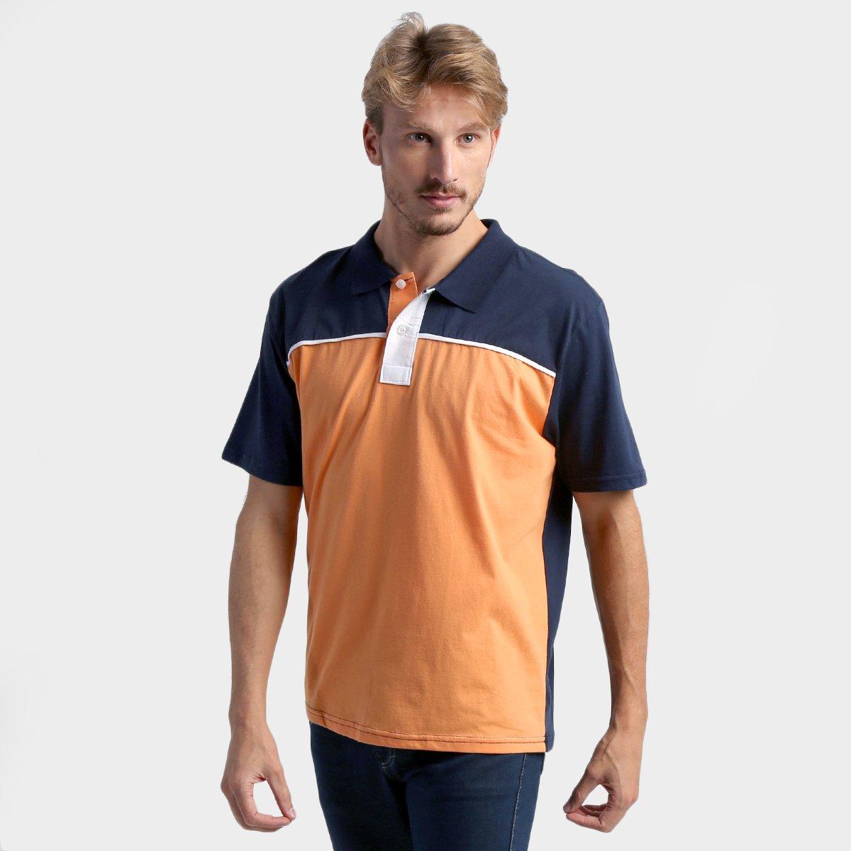 94cbd745b9 Camisa Polo Colombo Bicolor - Compre Agora