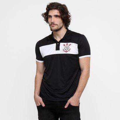 A Camisa Polo Corinthians Basic Masculina completa o visual do torcedor  alvinegro com autenticidade. Perfeita 974198e225385