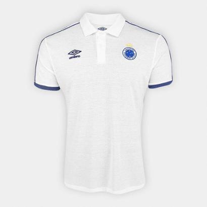 Camisa Polo Cruzeiro 2019 Viagem Umbro Masculina - Masculino