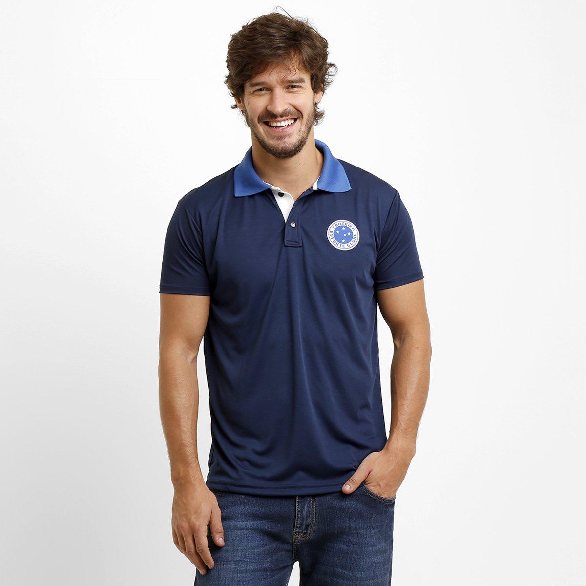 Camisa Polo Cruzeiro Contrasting - Compre Agora  583c04d1e9c06
