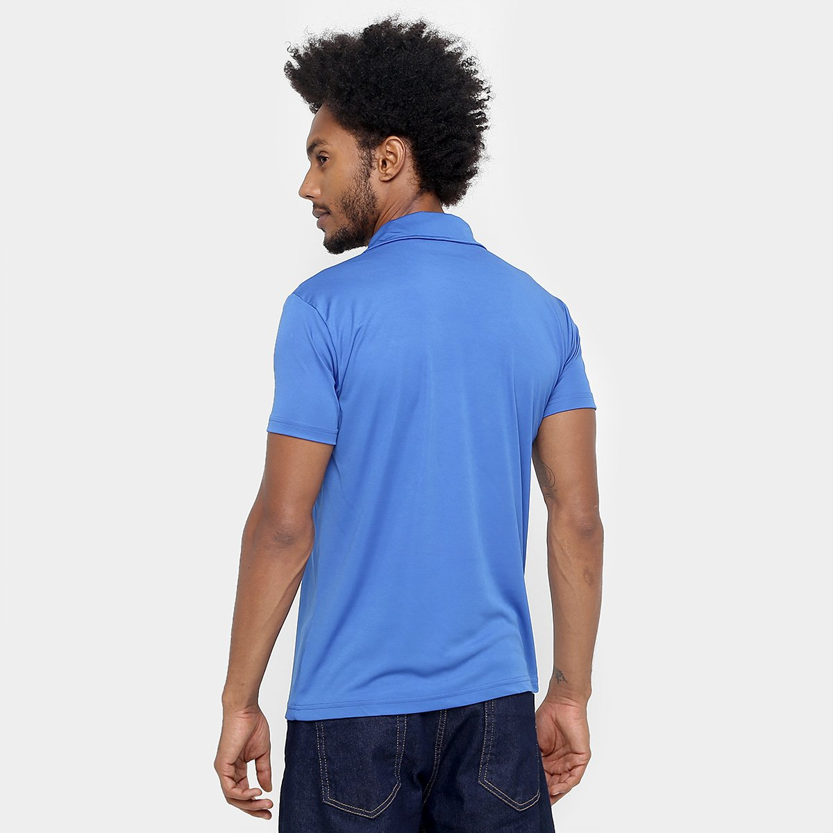 Camisa Polo Cruzeiro Fox Lines Masculina - Compre Agora  dd75a55581f83