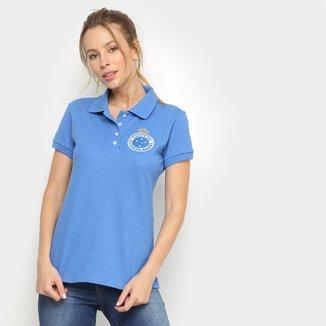 Camisa Polo Cruzeiro Hat Trick Feminina