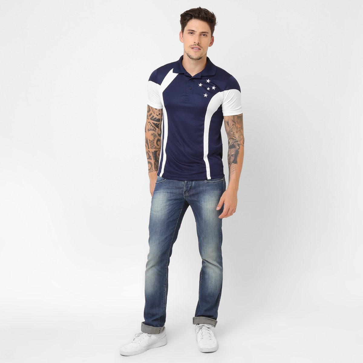 e49c5452c3 Camisa Polo Cruzeiro Heels - Compre Agora