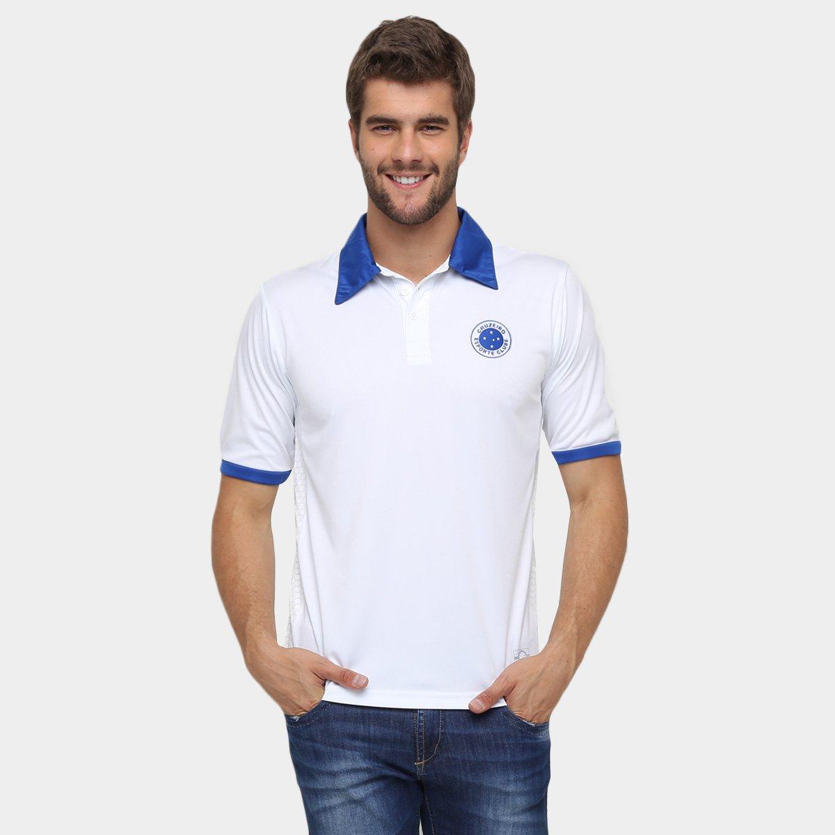 Camisa Polo Cruzeiro Masculina - Compre Agora  455d6d1260ada