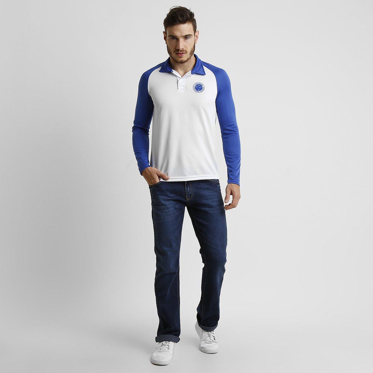 93834d3db1 Camisa Polo Cruzeiro M L - Compre Agora