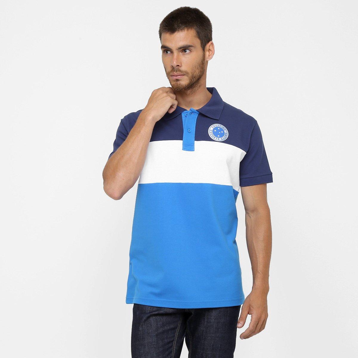 Camisa Polo Cruzeiro Philip Masculina - Compre Agora  9f1869b1bc37a