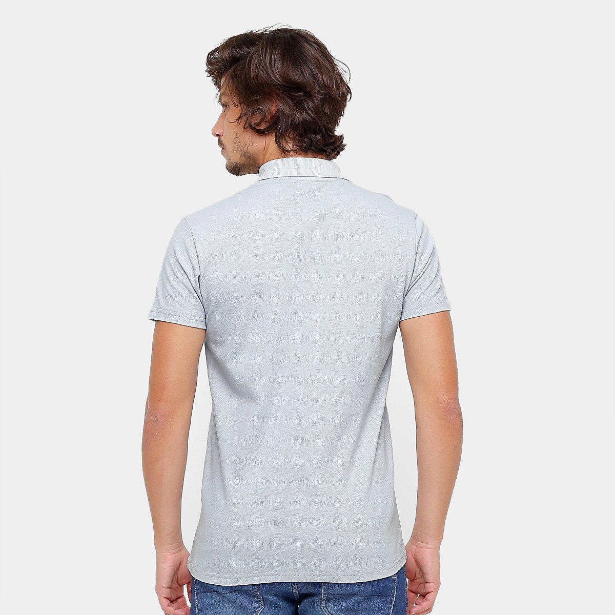 Camisa Polo Cruzeiro Piquet Masculina  Camisa Polo Cruzeiro Piquet Masculina  ... a7abebe9b9b73