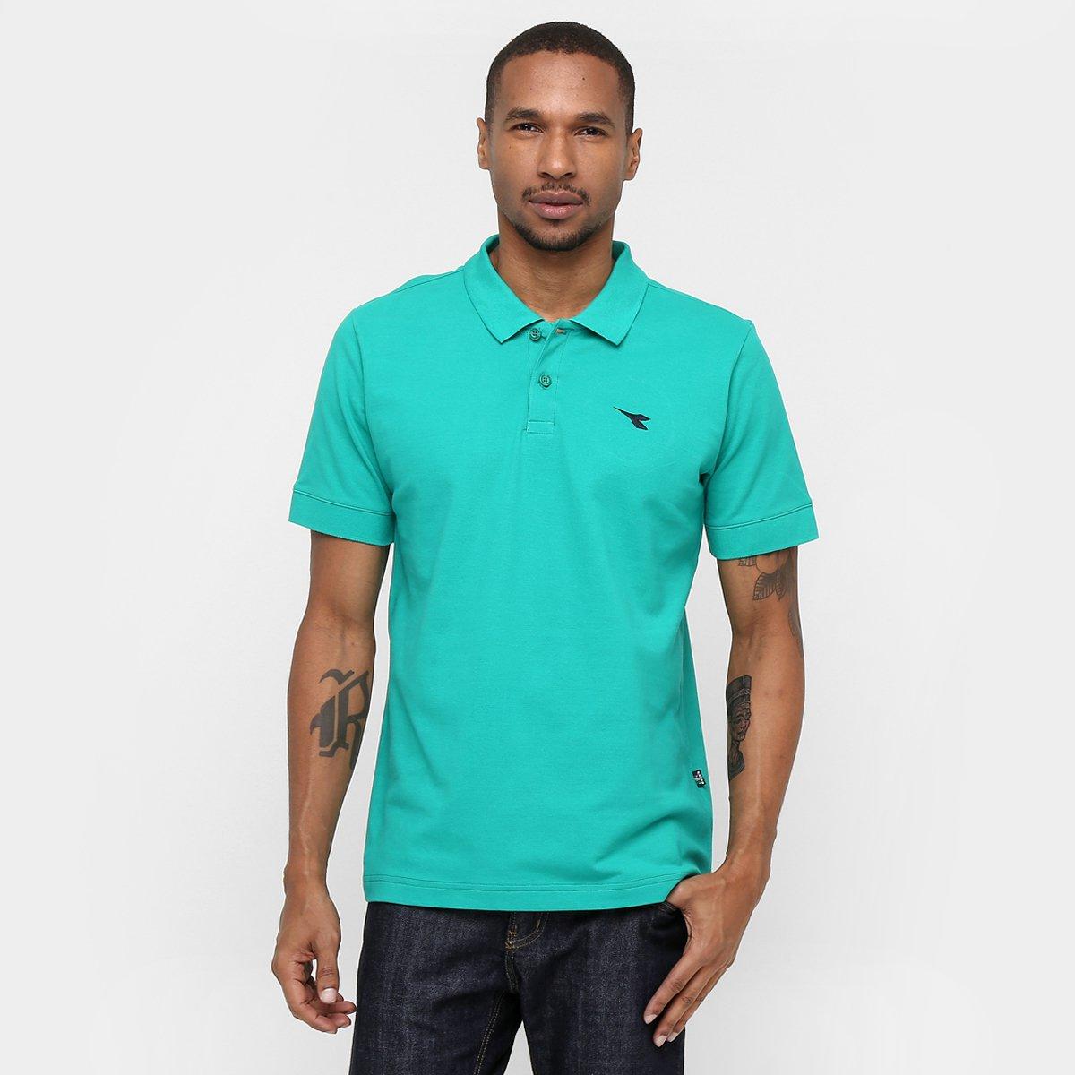 6536e55d9576c Camisa Polo Diadora Basic - Compre Agora   Netshoes