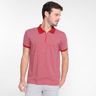 Camisa Polo Dixie Listras Masculina