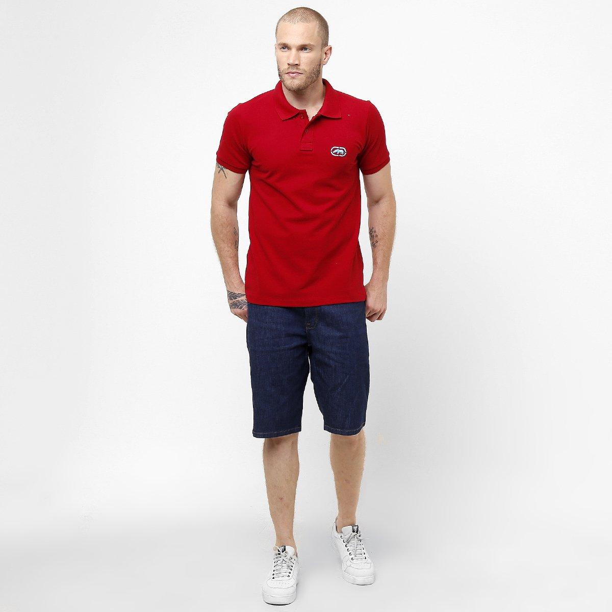 Camisa Polo Ecko Piquet Básica - Compre Agora  f30f0cd44cea4