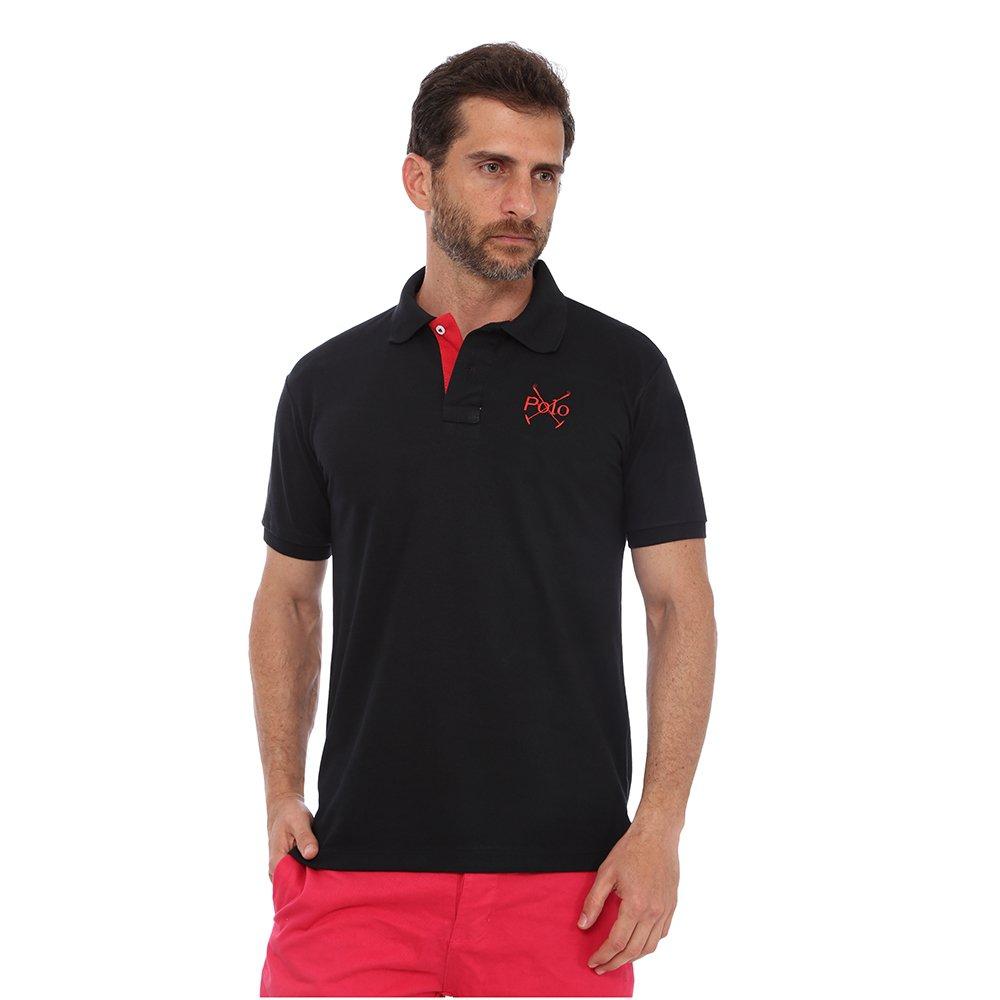 Camisa Polo England Polo Club Casual Taco - Preto - Compre Agora ... 90e384759c5c6