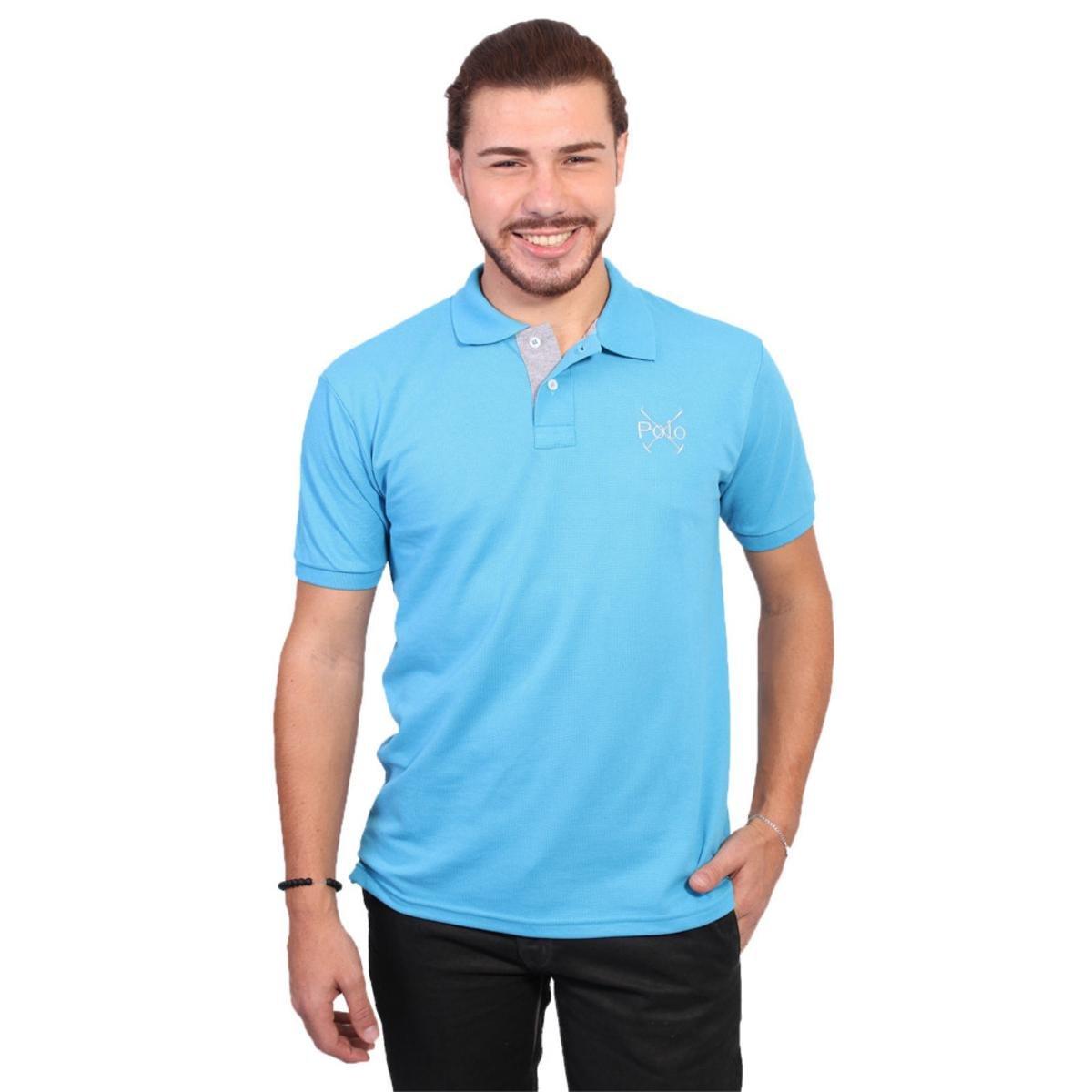 Camisa Polo England Polo Club Casual - Compre Agora  f78ae6a1e514d