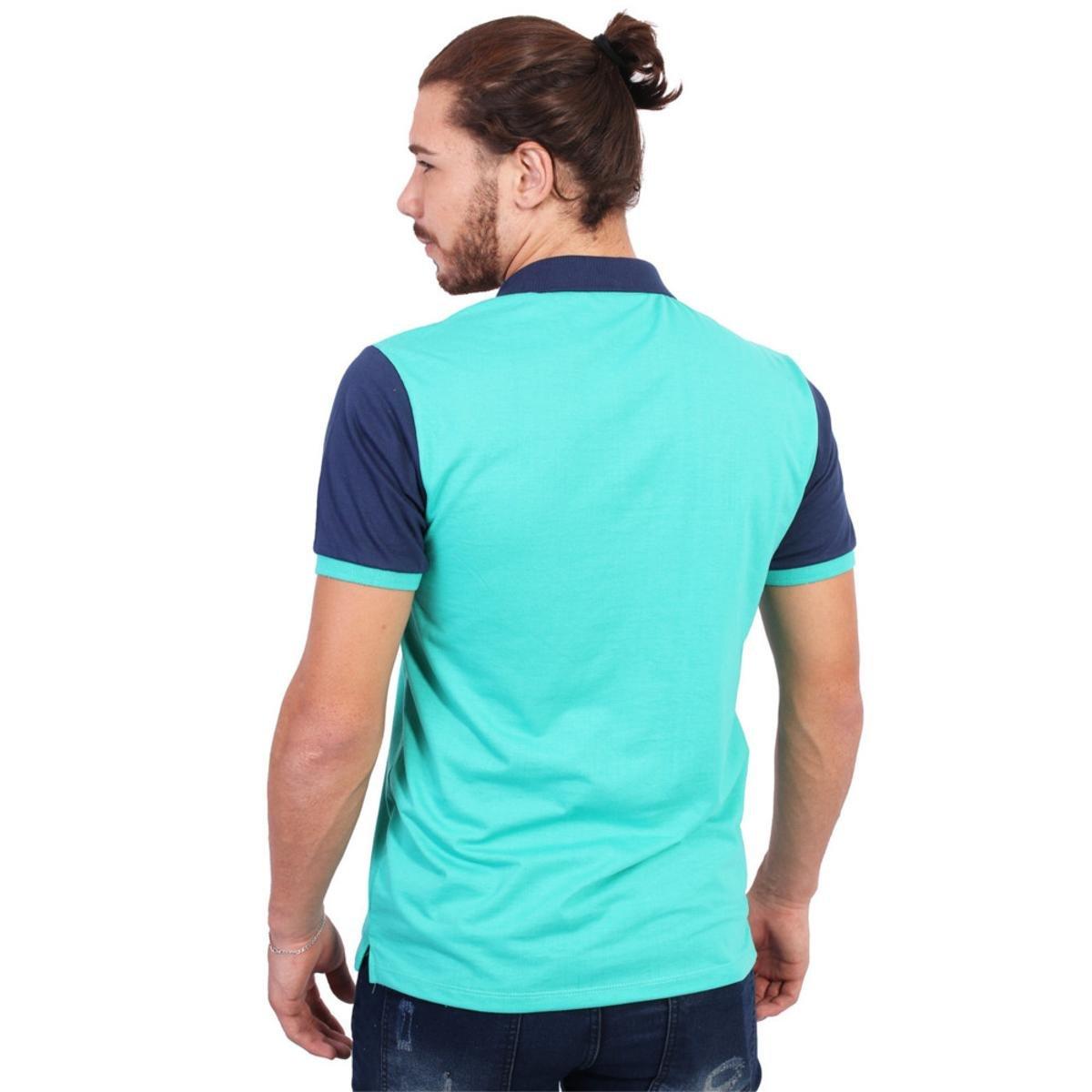 Camisa Polo England Polo Club Estampada - Verde - Compre Agora ... 184a6e188bccd