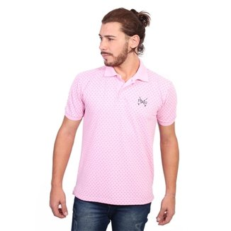 Camisa Polo England Polo Club Full Print