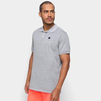 Camisa Polo Factory Washed Masculina