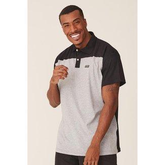Camisa Polo Fatal Plus Size Estampada Masculino