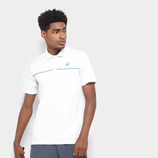 Camisa Polo Fila Square Masculina