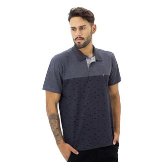 Camisa Polo Fishers Masculina Estampada
