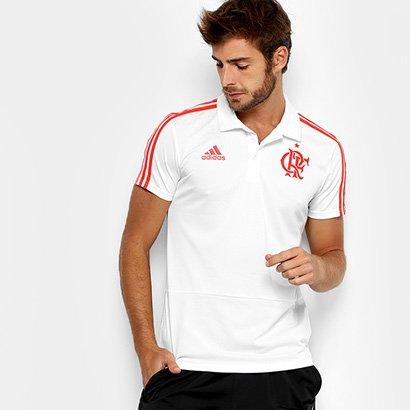 Oferta Camisa Polo Flamengo Adidas Viagem Masculina por R$ 159.99