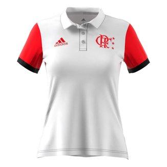 Camisa Polo Flamengo Viagem 21/22 Adidas Feminina