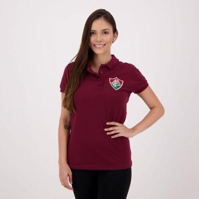 Camisa Polo Fluminense Piquet Feminina - Feminino