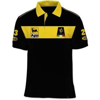 Camisa Polo Fórmula Retrô Minardi 1991