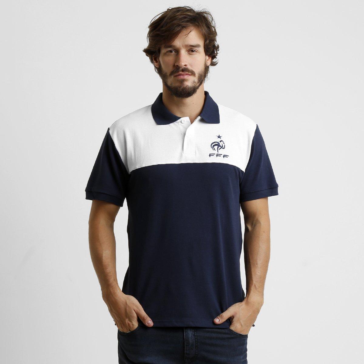 Camisa Polo França - Compre Agora   Netshoes d030d9e735