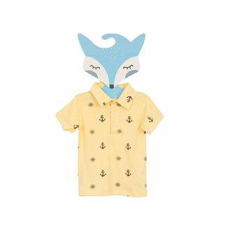 Camisa Polo Fredie Mon Petit Ancora Menino