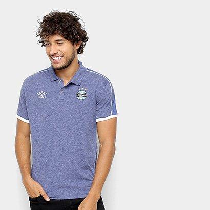 Camisa Polo Grêmio 2019 Viagem Umbro Masculina - Masculino